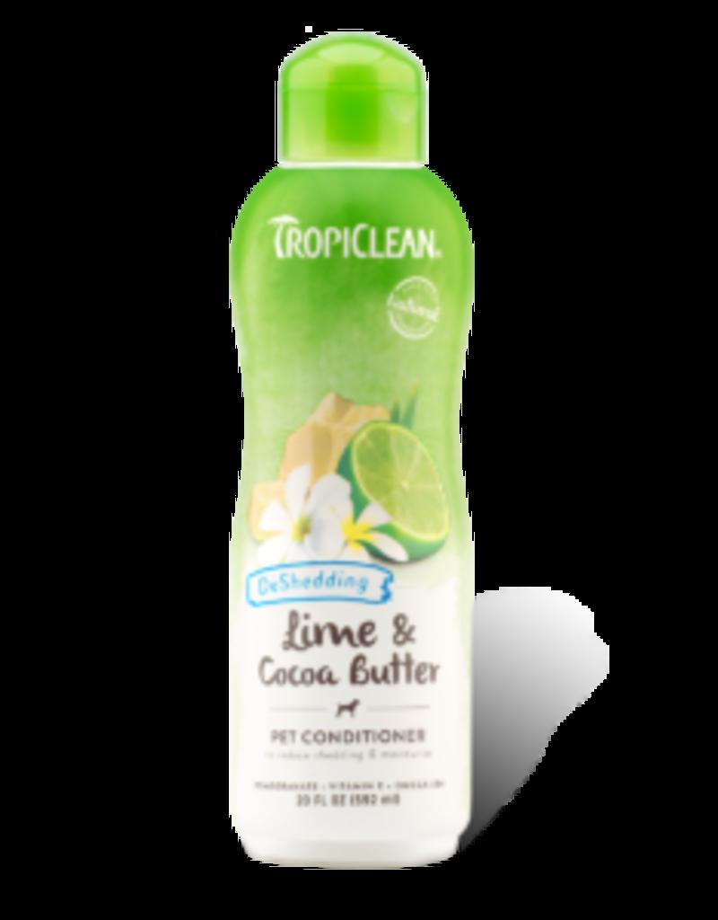 Tropiclean Tropiclean revitalisant pour animaux pour la mue lime et beurre de cacao 20oz