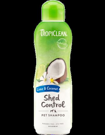Tropiclean Tropiclean shampooing pour animaux la mue lime et noix de coco 20oz
