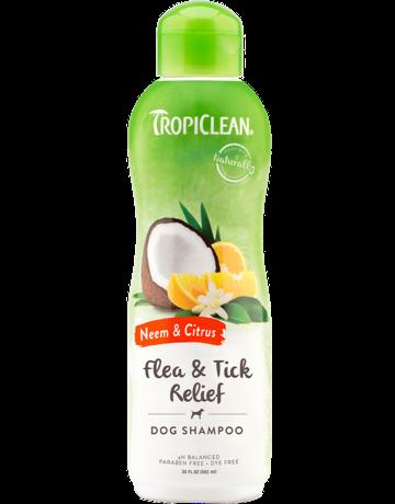 Tropiclean Tropiclean shampooing pour chien margouisier et agrumes  20oz