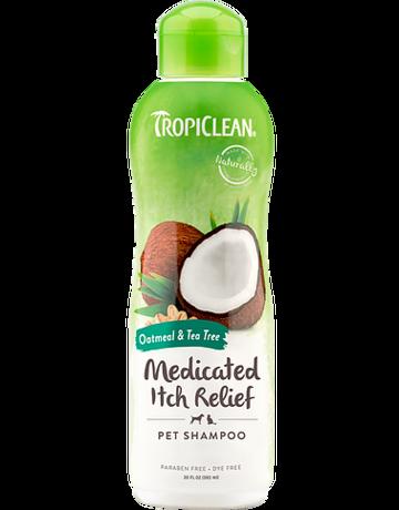 Tropiclean Tropiclean shampooing pour animaux médicamenteux  20oz