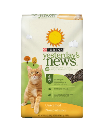 Purina Yesterday's news litière de papier