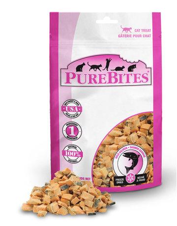 Purebites Purebites chat saumon sauvage 14g