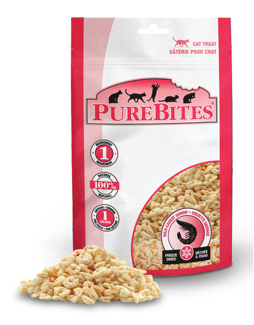 Purebites Purebites chat crevette sauvage