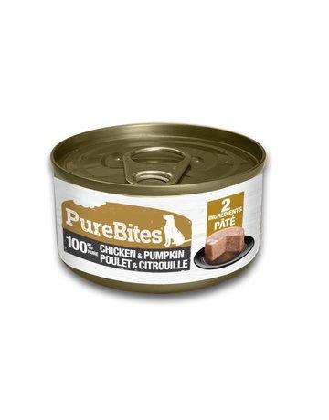 Purebites Purebites conserve 100% pure poulet et citrouille 2.5 oz (16)