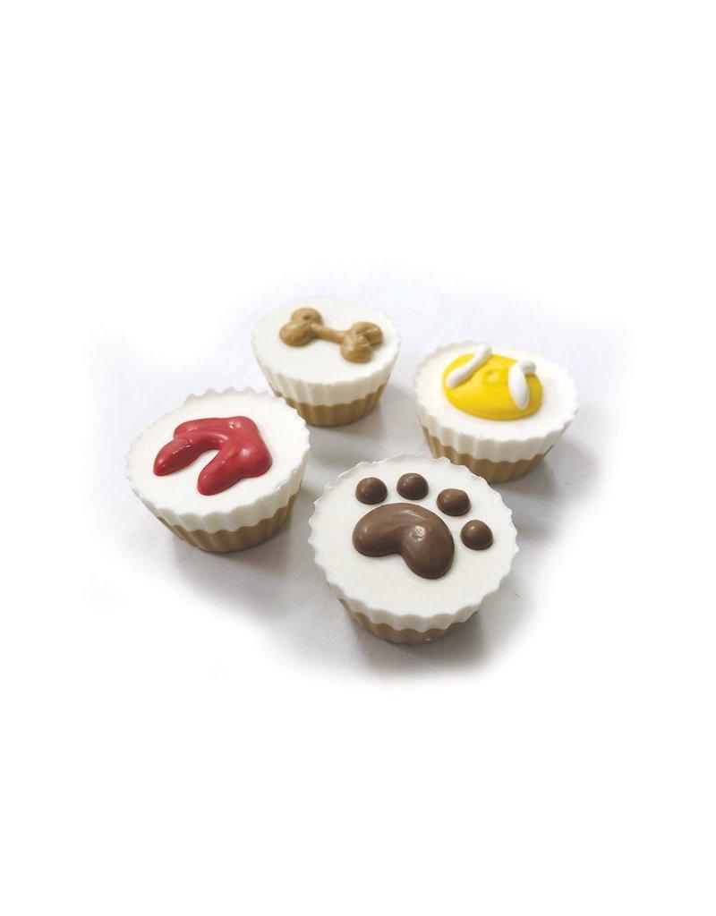 Bosco & Roxy's Bosco & Roxy's cupcakes arachide et meringue 4 unitées (6) ,