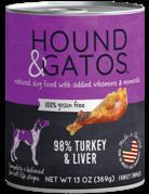 Hound&Gatos Hound&Gatos dinde 13oz (12)