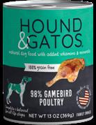 Hound&Gatos Hound&Gatos volailles 13oz (12)