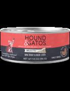 Hound&Gatos Hound&Gatos truite canard 5.5oz (24)