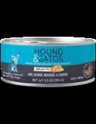 Hound&Gatos Hound&Gatos saumon, maquereau & sardine 5.5oz (24)
