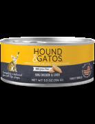 Hound&Gatos Hound&Gatos poulet 5.5oz (24) //