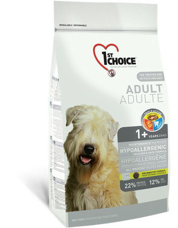 1st choice 1st choice chien hypoallergène adulte