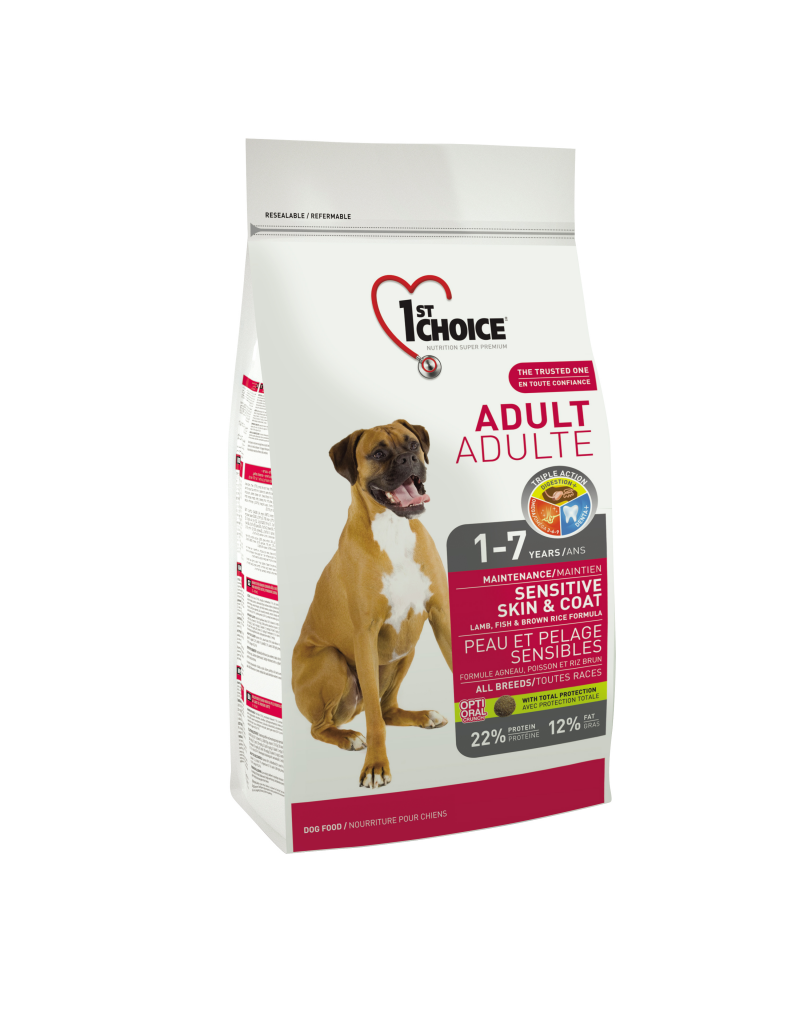 1st choice 1st choice chien peau et pelage sensible adulte