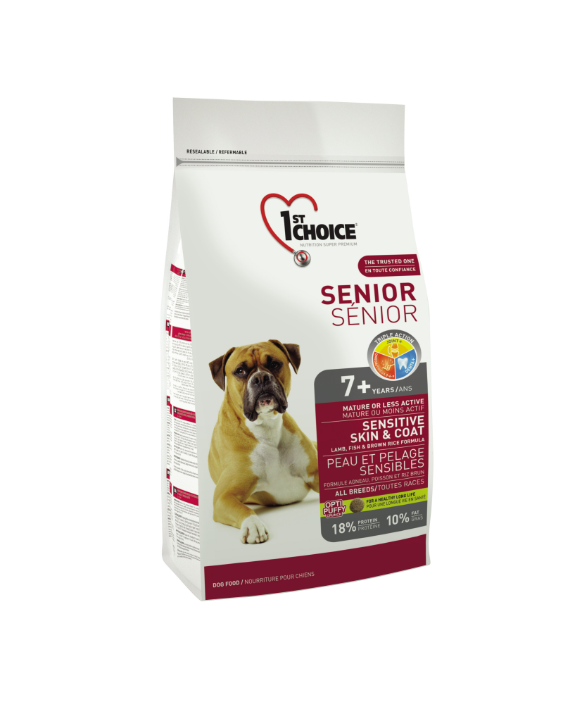 1st choice 1st choice chien peau et pelage sensibles sénior 7+
