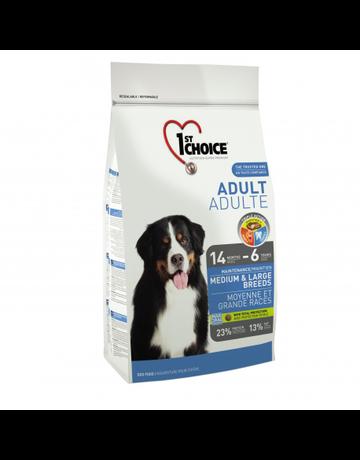 1st choice 1st choice chien moyenne et grande races maintenance adulte