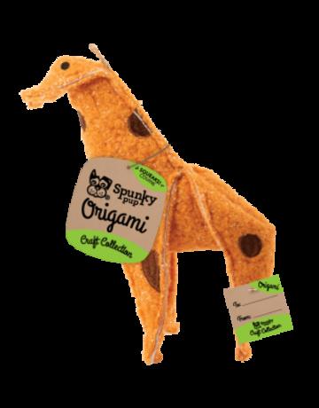 Spunky pup Spunky pup origami girafe .