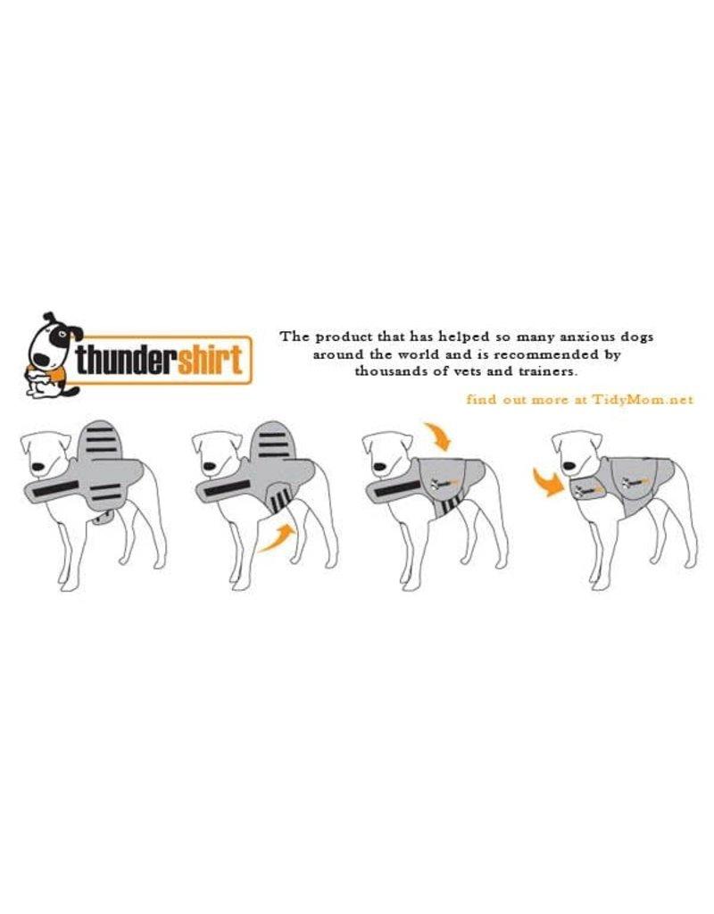 Thunder Thunder shirt sport chandail pour réduire l'anxièté des chiens TTpetit.