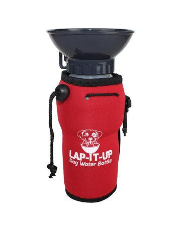 Lap-it-up Lap-it-up bouteille d'eau pour chien rouge ,