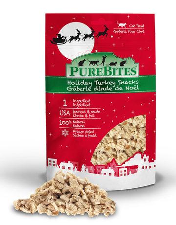 Purebites Purebites dinde de Noël 23g -