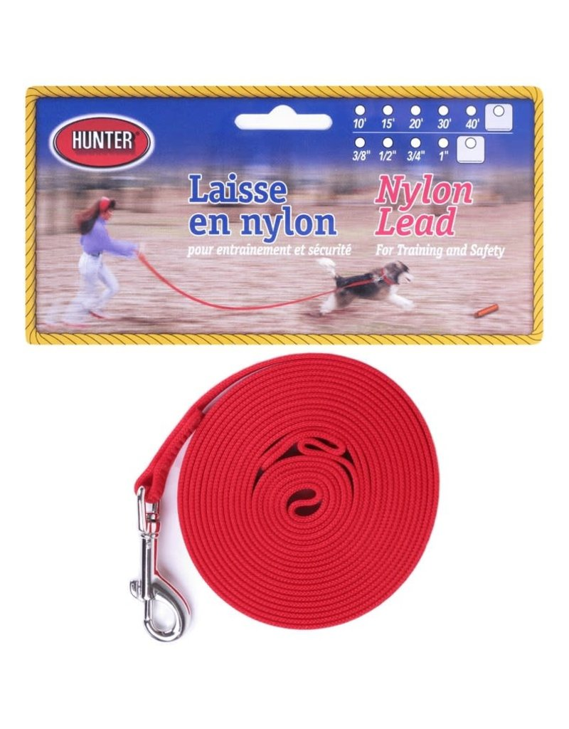 Hunter Hunter longe en nylon 15'