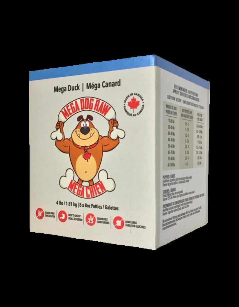 Mega dog raw Mega dog raw galettes mega canard 4lb //