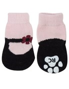 Rc pets Rc pets chaussettes antidérapantes mary janes rose grand