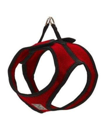 Rc pets Rc pets harnais step-in cirque rouge et noir