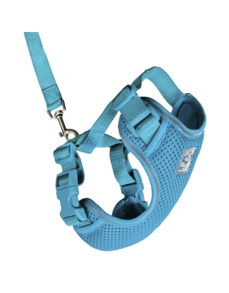 Rc pets Rc pets harnais aventure chat turquoise grand