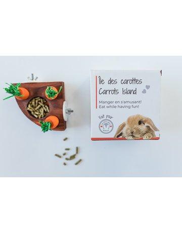 Les petits lapins d'amour Les petits lapîns d'amour île des carottes