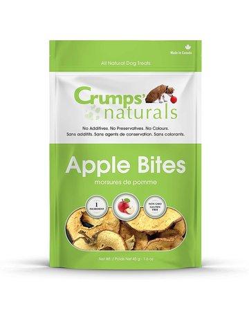 Crumps Crumps' naturals chien bouchées de pommes 1.2oz -