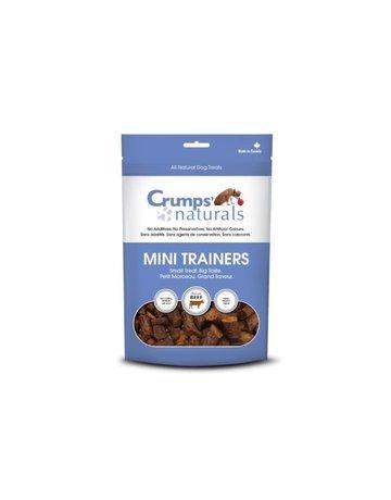 Crumps Crumps' naturals chien mini bouchées d'entrainement semi-humides boeuf 4.2oz //