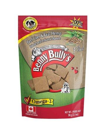 Benny bullys Benny bully foie et chanvre 58g (12)