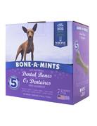 Bone-a-mints Bone-a-mint os dentaire naturel pour chien mini 27.30oz