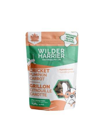Wilder Harrier Wilder Harrier gâteries grillon, citrouille et carotte