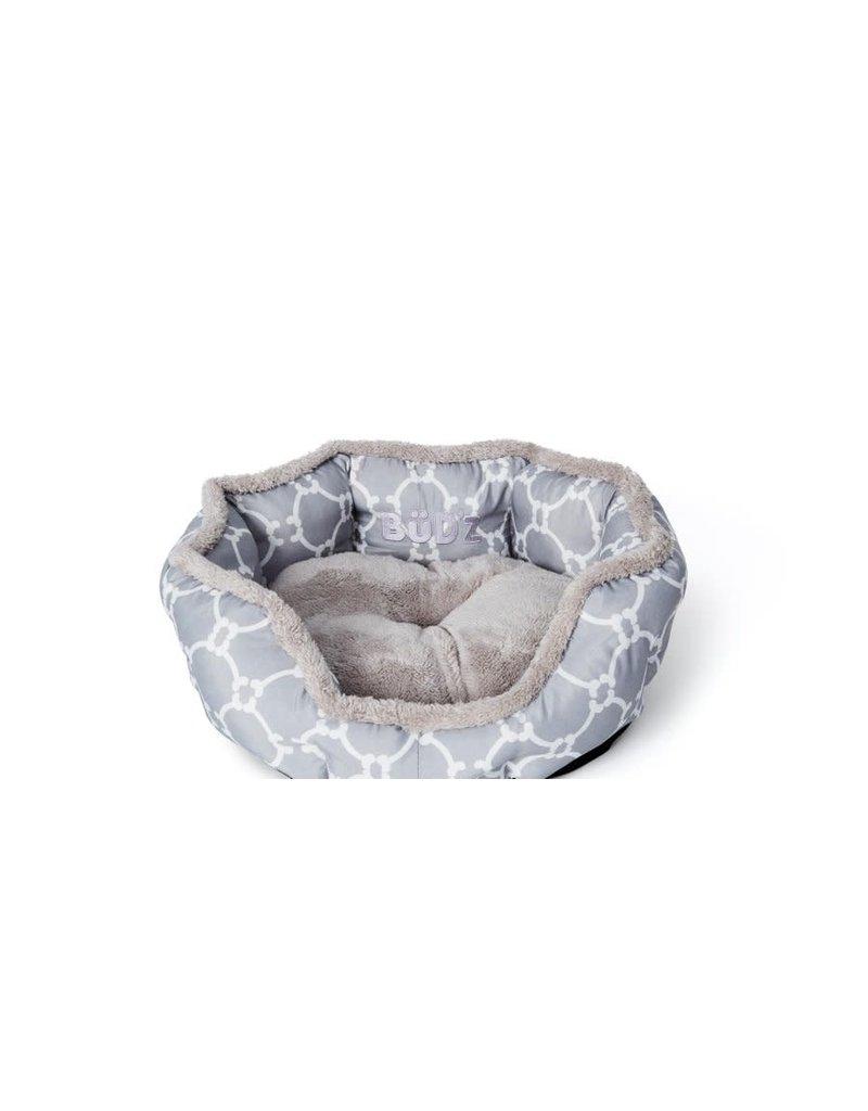 Bud'z Bud'z lit rond avec rebord élevés  gris