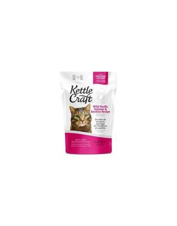 Kettle Craft Kettle craft chat recette de saumon sauvage du pacifique et sardine 85g