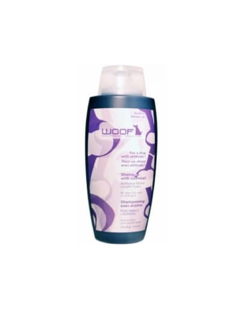 Woof Woof shampooing pour chien poils blancs ou clairs avoine 325ml