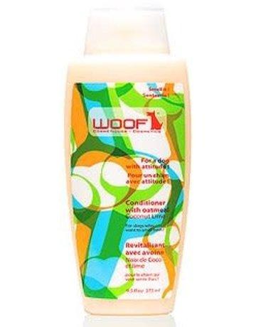 Woof Woof revitalisant pour chien noix de coco, lime et avoine 325ml
