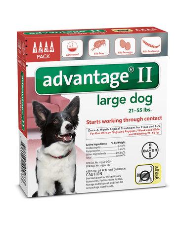 Advantage Advantage II chien de grande taille , .