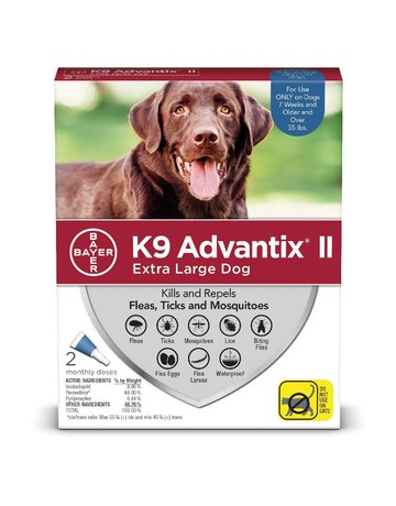 Advantage K9 Advantage II chien de très grande taille ,