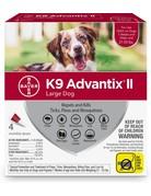 Advantage K9 Advantage II chien de grande taille ,