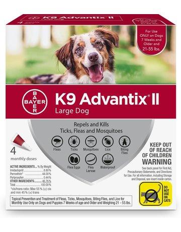 Advantage K9 Advantage II chien de grande taille , .