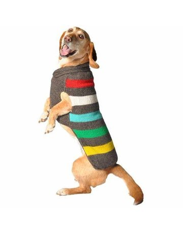 Chilly dog Chilly dog tricot ligné charcoal TTTgrand .