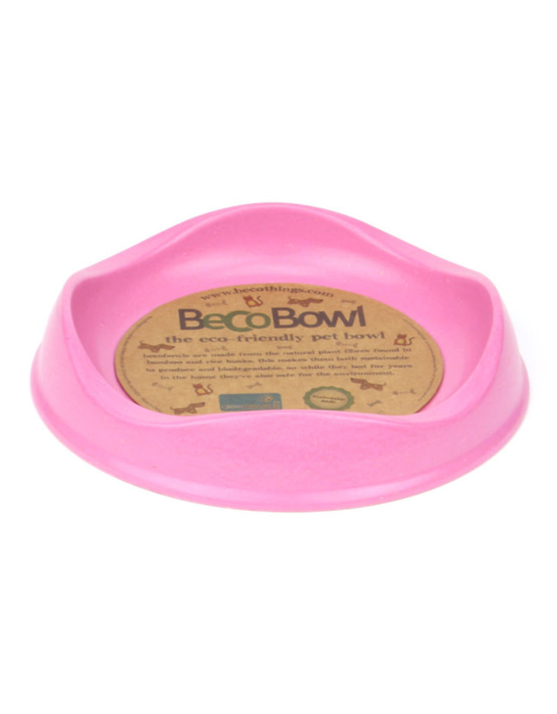 Beco Beco bol pour chat rose .