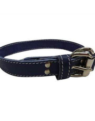arizona Arizona collier bleu en cuir 20'' x 1''