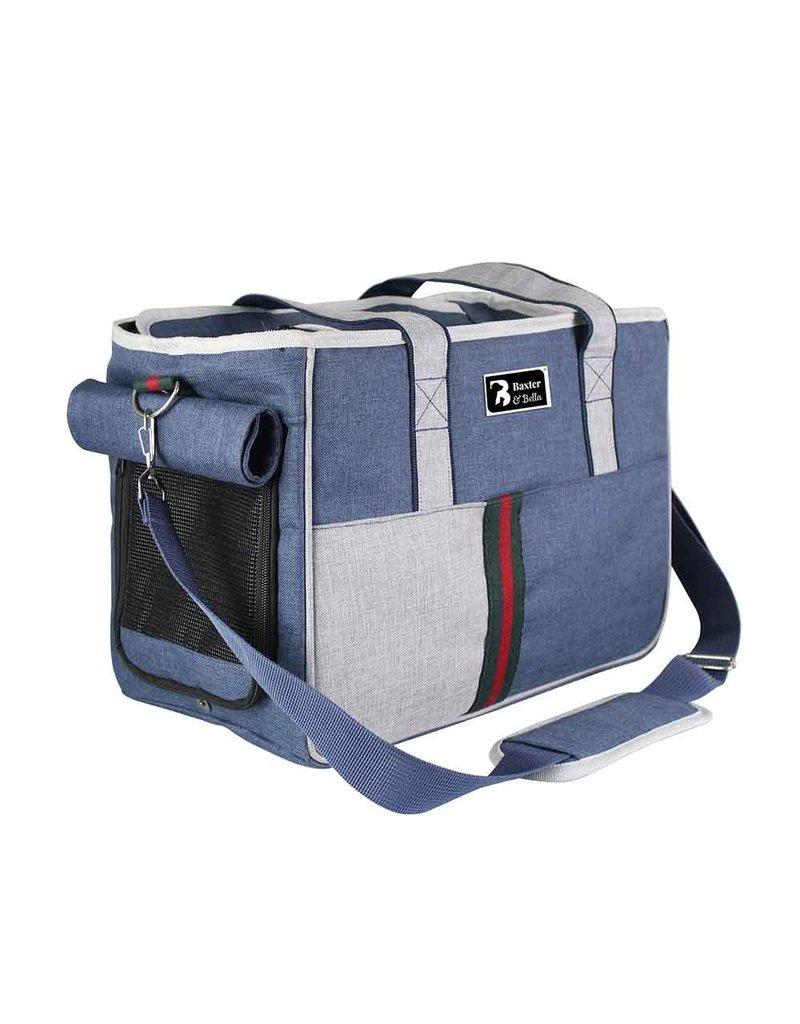 baxter&bella Baxter et bella transporteur sac de coté sport bleu  //