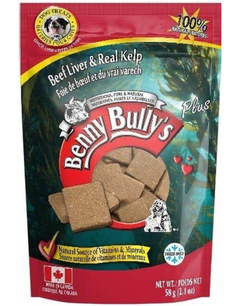Benny bullys Benny bully foie varech 58g (12) //