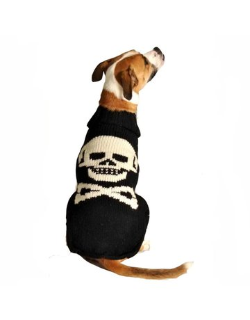Chilly dog Chilly dog tricot tête de mort moyen .