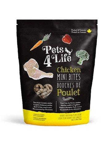 Pets 4 life Pets 4 life bouchées crue au poulet 1.25lb //