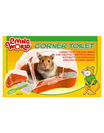 Living World Living world toilette pour hamster rouge moyen