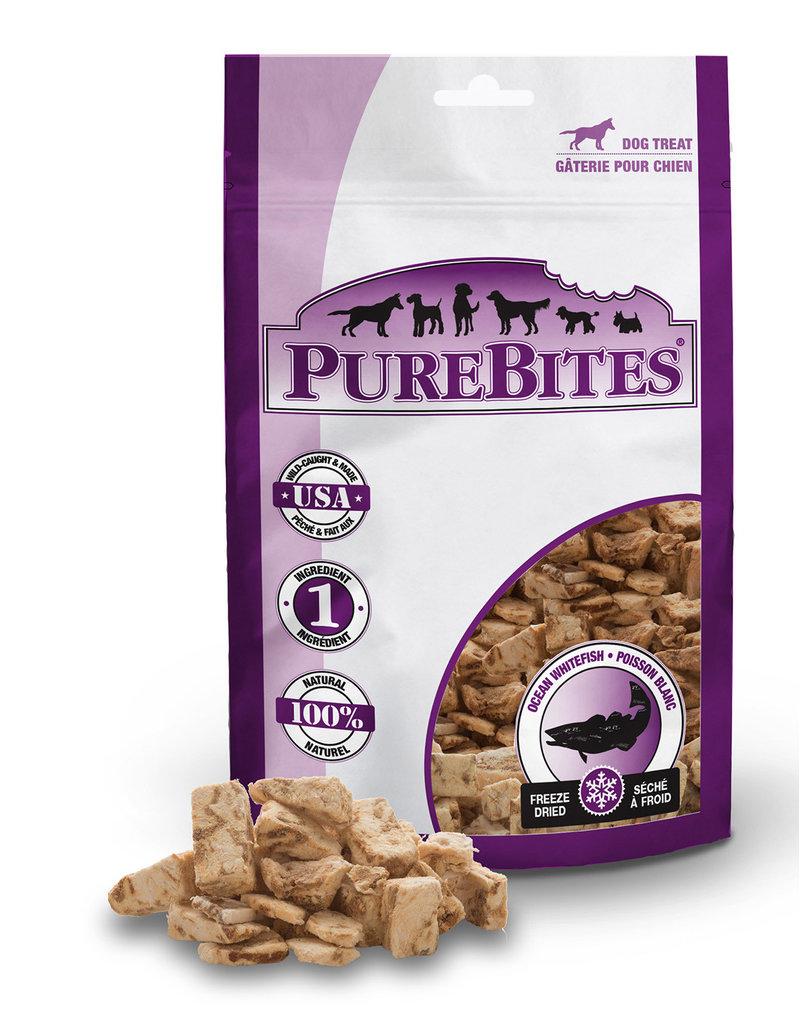 Purebites Purebites chien poisson blanc  24g